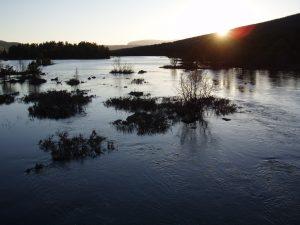 Solnedgång Skurdalen 2010:1