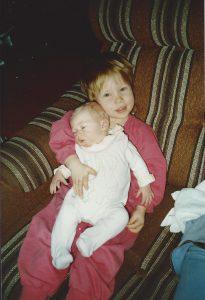 Petra och Billy feb 1989